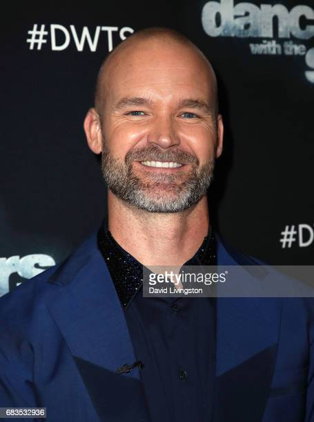 Former MLB player David Ross attends 'Dancing with the Stars' Season 24 at CBS Televison City on May 15 2017 in Los Angeles California