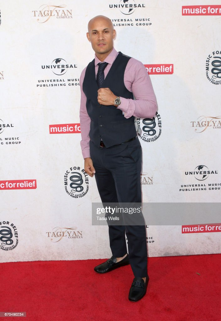 Former MMA fighter and Founder and CEO at SMASH Global Steve Orosco attends Linkin Park's Music for Relief - Charity Poker Tournament at Taglyan Cultural Complex on April 19, 2017 in Hollywood, California.