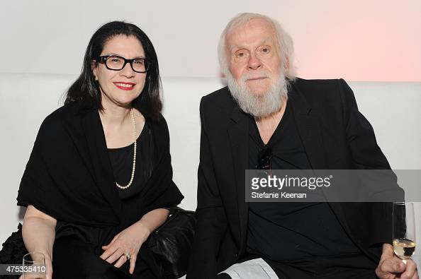 Former MOCA curator Ann Goldstein and artist John Baldessari attend the 2015 MOCA Gala presented by Louis Vuitton at The Geffen Contemporary at MOCA...