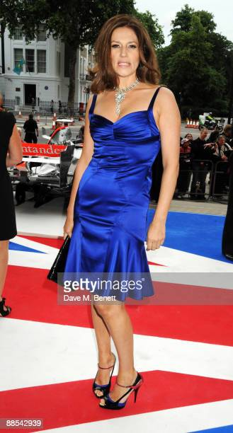 Former model Slavica Ecclestone attends the F1 Charity Party at the Victoria Albert Museum on June 17 2009 in London England