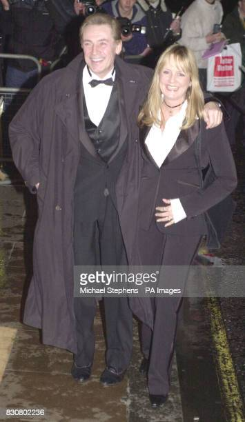 Former model Twiggy arriving at the Evening Standard Film Awards 2002 at The Savoy in London The annual awards recognise the achievements in...