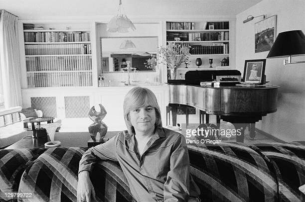 Former Moody Blues singersongwriter and guitarist Justin Hayward at home 8th July 1980