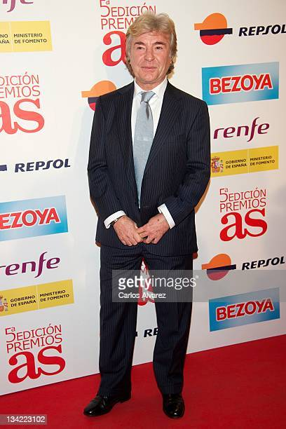 Former Motor Bike rider Angel Nieto attends the AS Awards 2011 at the Palace Hotel on November 28 2011 in Madrid Spain