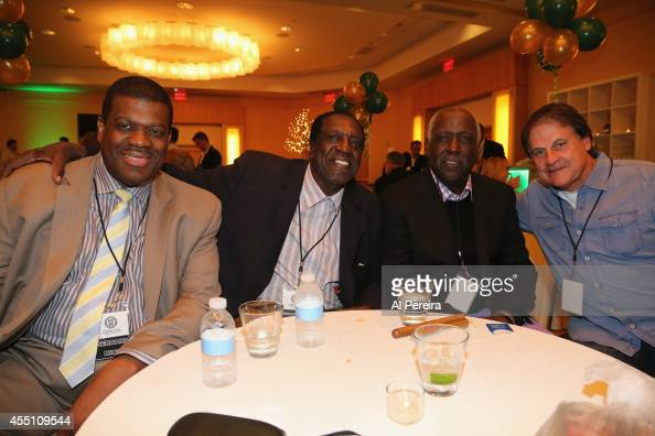 Former National Basketball League stadout Bernard King Former Harlem Globetrotter standout Meadowlark Lemon Actor Richard Roundtree and Major League...