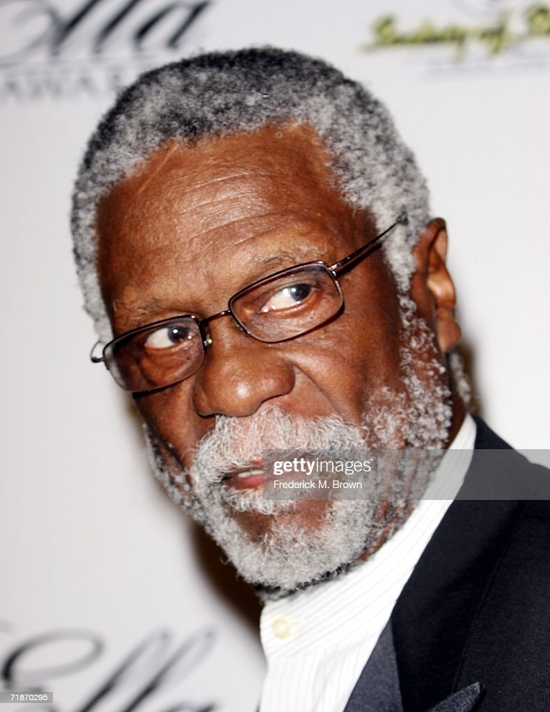 Former NBA basketball player <a gi-track='captionPersonalityLinkClicked' href=/galleries/search?phrase=Bill+Russell+-+Basketball+Player&family=editorial&specificpeople=11524303 ng-click='$event.stopPropagation()'>Bill Russell</a> attends the15th Annual Ella Awards at the Beverly Hilton Hotel on September12, 2006 in Beverly Hills, California. (Photo by Frederick M. Brown/GettyImages).