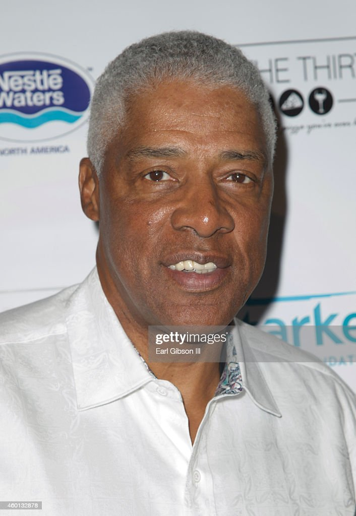 Former NBA Basketball Player <a gi-track='captionPersonalityLinkClicked' href=/galleries/search?phrase=Julius+Erving&family=editorial&specificpeople=202966 ng-click='$event.stopPropagation()'>Julius Erving</a> attends The Starkey Hearing Foundation Inaugural Celebrity Golf Classic PrePlay VIP Reception at Shadow Hills Estate on December 7, 2014 in Beverly Hills, California.