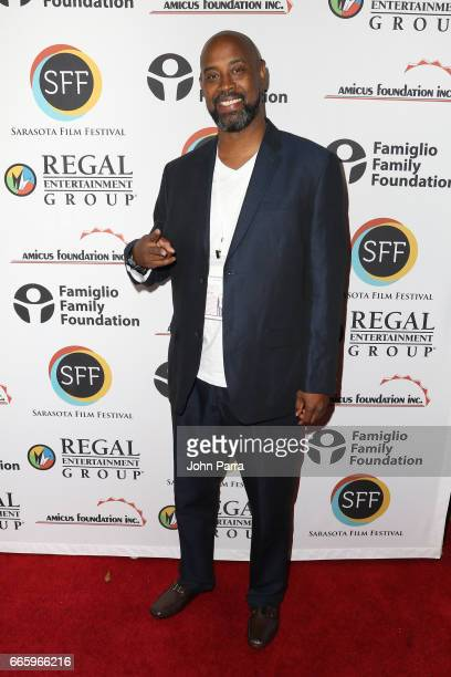 Former NBA basketball player Kenny Anderson attends the 'Mr Chibbs' screening during the 2017 Sarasota Film Festival on April 7 2017 in Sarasota...
