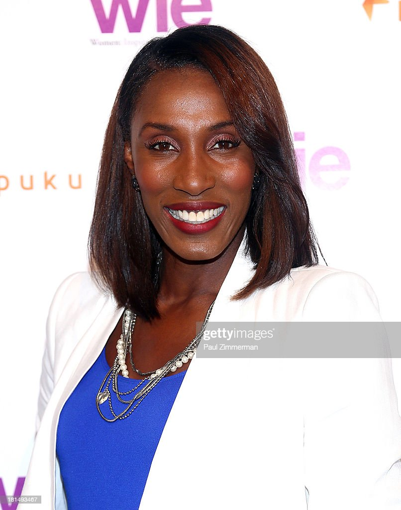 Former NBA basketball player <a gi-track='captionPersonalityLinkClicked' href=/galleries/search?phrase=Lisa+Leslie&family=editorial&specificpeople=202228 ng-click='$event.stopPropagation()'>Lisa Leslie</a> attends the 4th Annual WIE Symposium at Center 548 on September 21, 2013 in New York City.