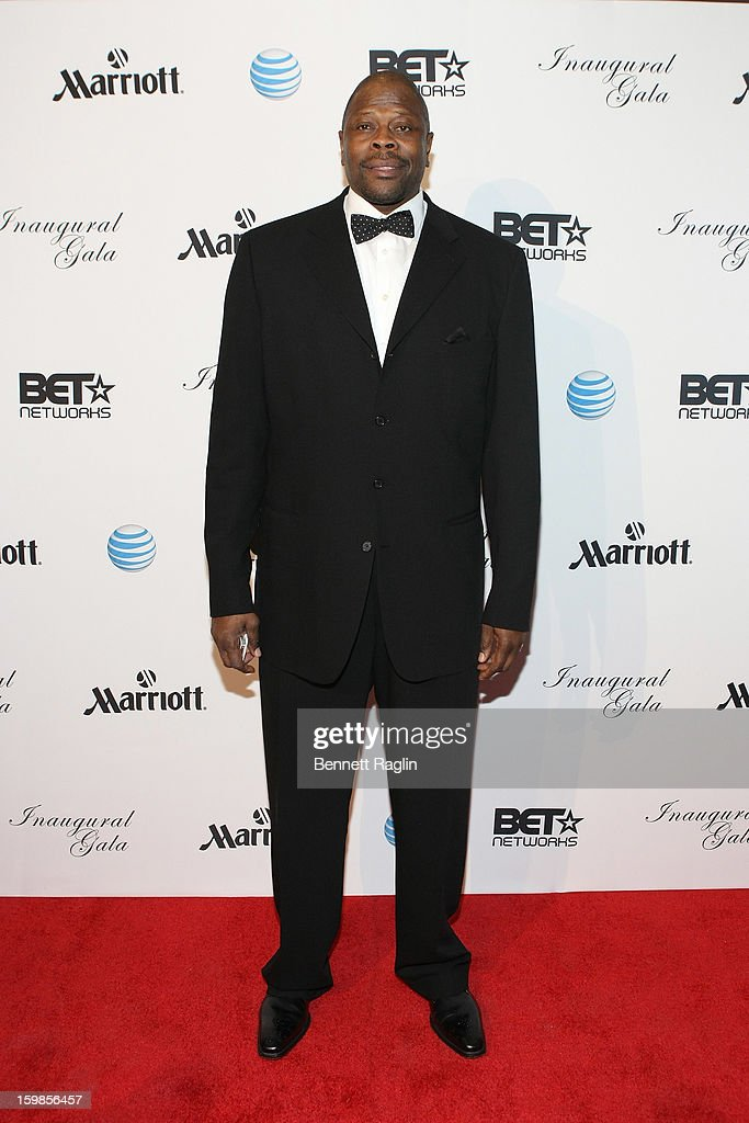 Former NBA basketball player <a gi-track='captionPersonalityLinkClicked' href=/galleries/search?phrase=Patrick+Ewing&family=editorial&specificpeople=202881 ng-click='$event.stopPropagation()'>Patrick Ewing</a> attends the Inaugural Ball hosted by BET Networks at Smithsonian American Art Museum & National Portrait Gallery on January 21, 2013 in Washington, DC.