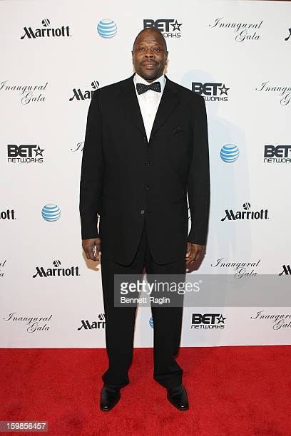 Former NBA basketball player Patrick Ewing attends the Inaugural Ball hosted by BET Networks at Smithsonian American Art Museum National Portrait...