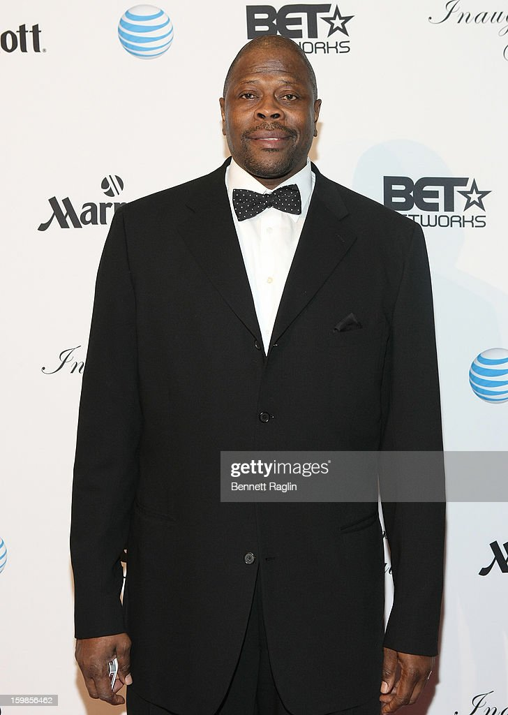 Former NBA basketball player Patrick Ewing attends the Inaugural Ball hosted by BET Networks at Smithsonian American Art Museum & National Portrait Gallery on January 21, 2013 in Washington, DC.