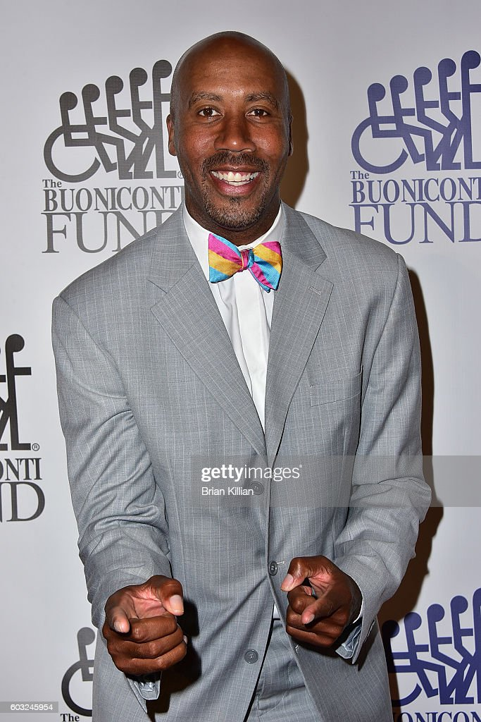 Former NBA forward Bruce Bowen attends the 31st Annual Great Sports Legends Dinner at The Waldorf Astoria on September 12, 2016 in New York City.