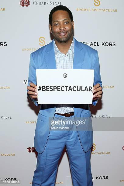 Former NBA Forward Robert Horry attends the Sports Spectacular Luncheon Benefiting CedarsSinai at The Beverly Hilton Hotel on March 25 2015 in...
