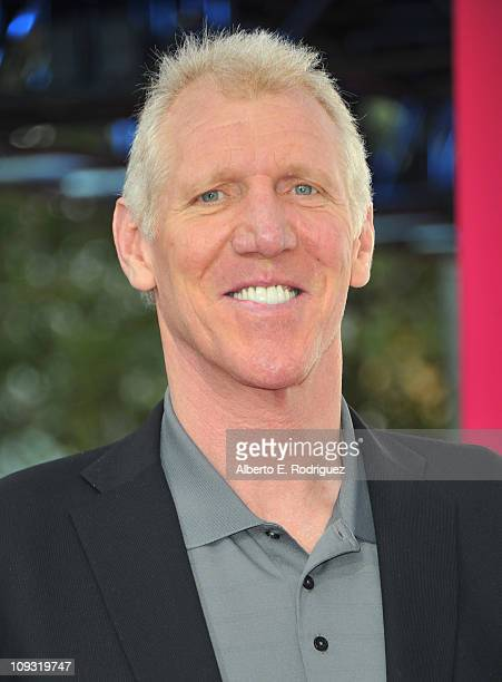Former NBA player Bill Walton arrives to the TMobile Magenta Carpet at the 2011 NBA AllStar Game on February 20 2011 in Los Angeles California