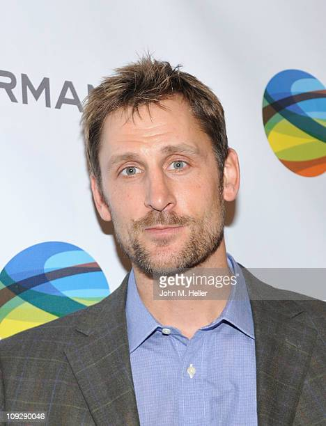 Former NBA player Brent Barry attends Pau Gasol's NBA All Star Game party at the Sunset Marquis Hotel on February 18 2011 in Los Angeles California