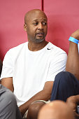 Former NBA player Brian Shaw attends the USAB practice on July 20 2016 at Mendenhall Center on the University of Nevada Las Vegas campus in Las Vegas...