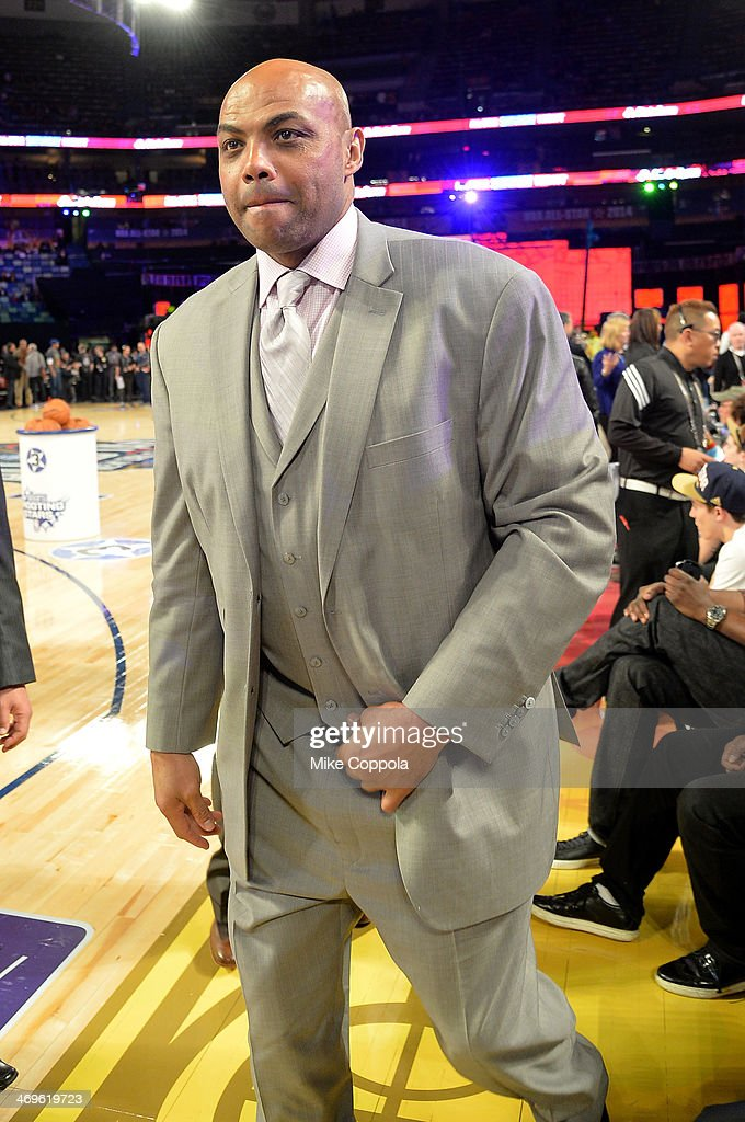 Former NBA Player <a gi-track='captionPersonalityLinkClicked' href=/galleries/search?phrase=Charles+Barkley&family=editorial&specificpeople=202484 ng-click='$event.stopPropagation()'>Charles Barkley</a> attends the State Farm All-Star Saturday Night during the NBA All-Star Weekend 2014 at The Smoothie King Center on February 15, 2014 in New Orleans, Louisiana.