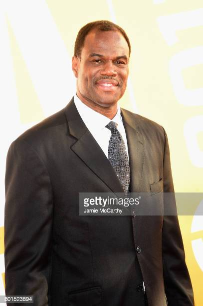 Former NBA player David Robinson attends the 2017 NBA Awards live on TNT on June 26 2017 in New York New York 27111_003