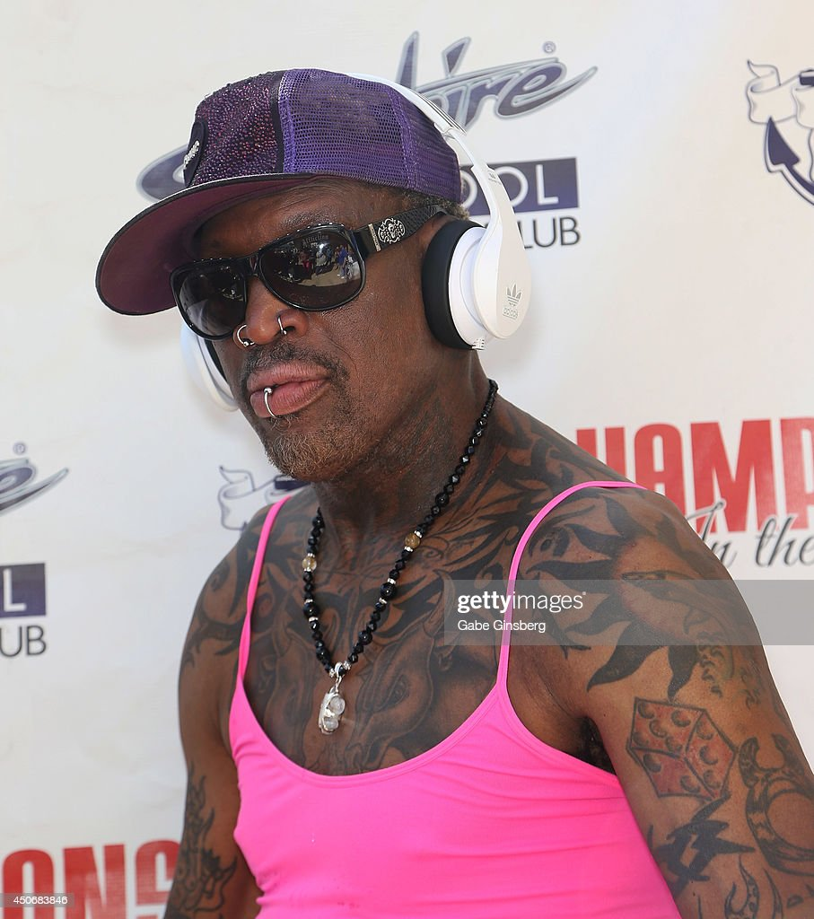 Dennis Rodman At Sapphire Pool & Day Club s and