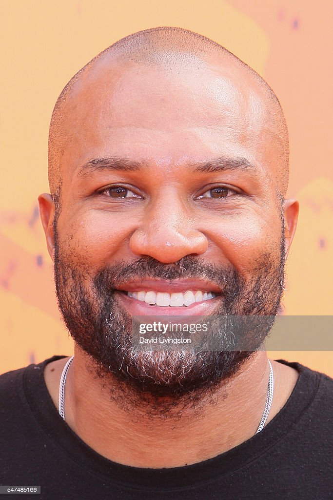 Former NBA player Derek Fisher arrives at the Nickelodeon Kids' Choice Sports Awards 2016 at the UCLA's Pauley Pavilion on July 14, 2016 in Westwood, California.