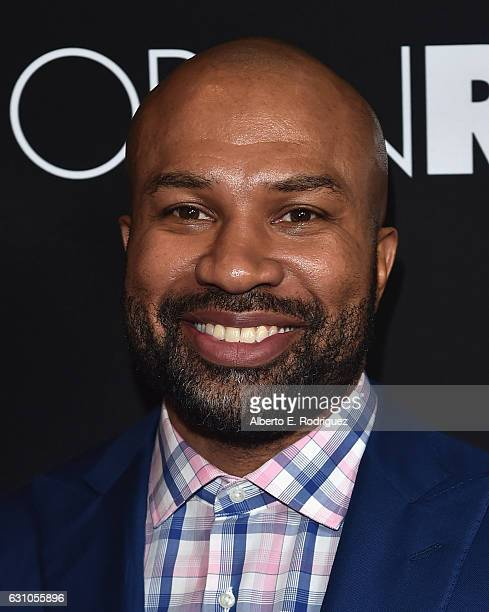 Former NBA player Derek Fisher attends the Premiere of Open Road Films' 'Sleepless' at Regal LA Live Stadium 14 on January 5 2017 in Los Angeles...