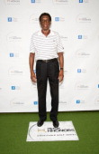 Former NBA player Elgin Baylor arrives at the 6th Annual Hilton HHonors Charitable Golf Series at The Riviera Country Club on October 8 2012 in...