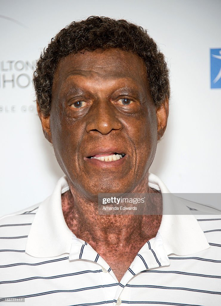 Former NBA player Elgin Baylor arrives at the 6th Annual Hilton HHonors Charitable Golf Series at The Riviera Country Club on October 8, 2012 in Pacific Palisades, California.