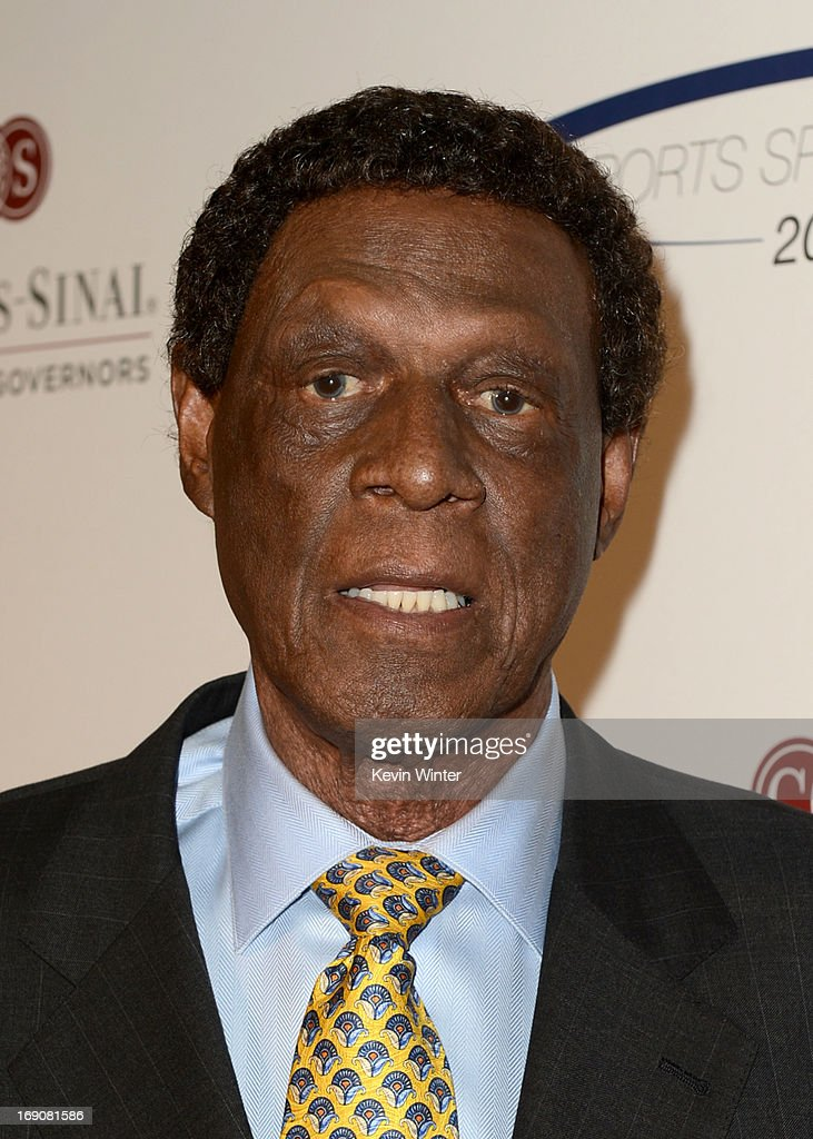 Former NBA player Elgin Baylor attends the 28th Anniversary Sports Spectacular Gala at the Hyatt Regency Century Plaza on May 19 2013 in Century City...