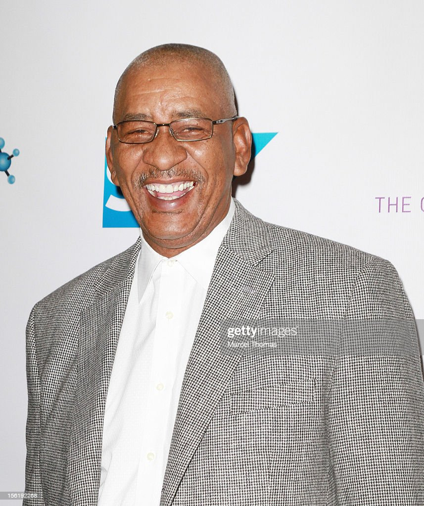 Former NBA player George 'The Iceman' Gervin attends the 8th All Star Celebrity Classic benefiting the Mr October Foundation for Kids at Cosmopolitan Hotel on November 11, 2012 in Las Vegas, Nevada.