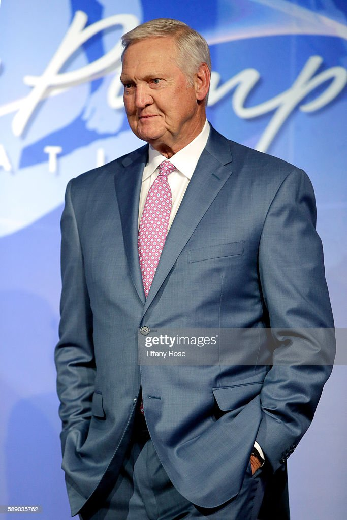 Former NBA player Jerry West attends the 16th Annual Harold Carole Pump Foundation Gala at The Beverly Hilton Hotel on August 12 2016 in Beverly...