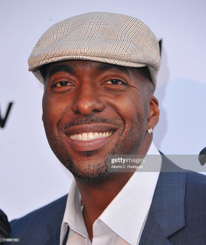 Former NBA player <a gi-track='captionPersonalityLinkClicked' href=/galleries/search?phrase=John+Salley&family=editorial&specificpeople=215276 ng-click='$event.stopPropagation()'>John Salley</a> arrives to Playboy TV's 'TV for 2' 2011 TCA event on July 27, 2011 in Los Angeles, California.