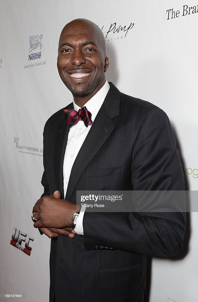 Former NBA player <a gi-track='captionPersonalityLinkClicked' href=/galleries/search?phrase=John+Salley&family=editorial&specificpeople=215276 ng-click='$event.stopPropagation()'>John Salley</a> attends the 12th Annual Harold Pump Foundation Gala at the Hyatt Regency Century Plaza on August 10, 2012 in Century City, California.
