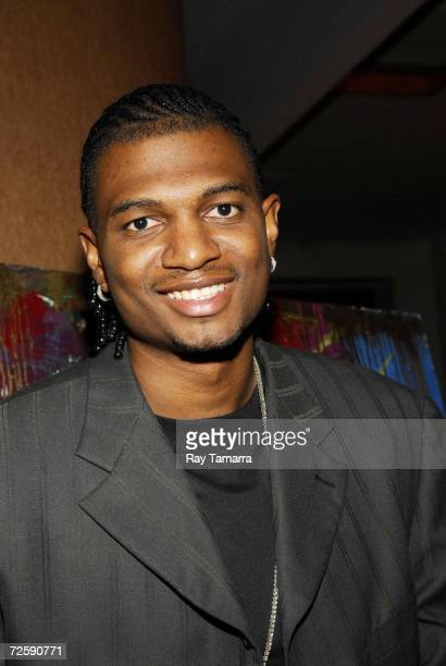 Former NBA player Jonathan Bender attends the Living Legends Foundation's 13th Annual Dinner at the Westin Times Square on November 16 2006 in New...