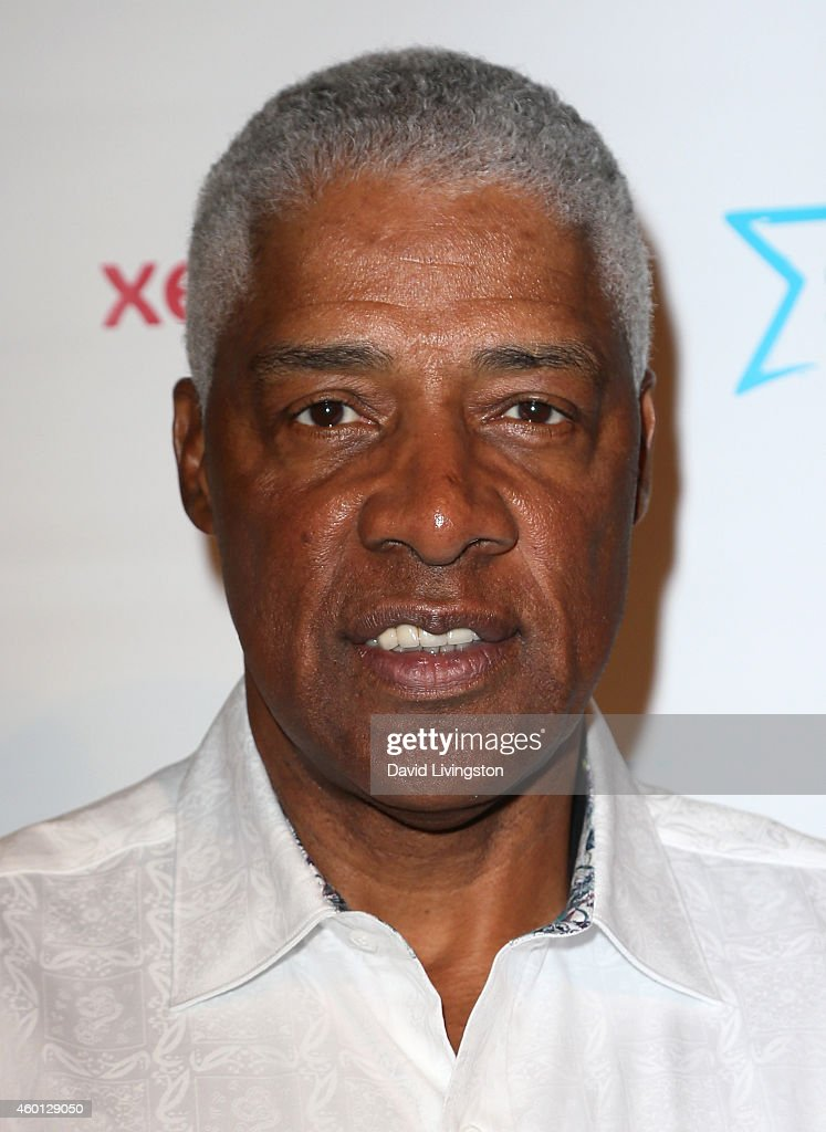 Former NBA player <a gi-track='captionPersonalityLinkClicked' href=/galleries/search?phrase=Julius+Erving&family=editorial&specificpeople=202966 ng-click='$event.stopPropagation()'>Julius Erving</a> attends the Starkey Hearing Foundation Inaugural Celebrity Golf Classic PrePlay VIP Reception at Shadow Hills Estate on December 7, 2014 in Beverly Hills, California.