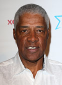 Former NBA player Julius Erving attends the Starkey Hearing Foundation Inaugural Celebrity Golf Classic PrePlay VIP Reception at Shadow Hills Estate...