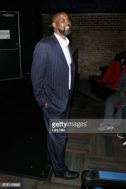 Former NBA player Kenny Anderson attends the MR CHIBBS Opening Night screening at the IFC Center on May 3 2017 in New York City