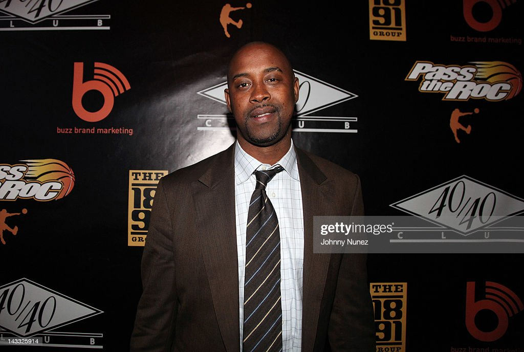 Former NBA player Kenny Anderson attends the 'Welcome to Brooklyn' celebration at the 40 / 40 Club on April 23, 2012 in New York City.