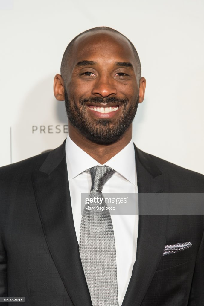 Former NBA Player Kobe Bryant attends the 2017 Tribeca Film Festival's Tribeca Talks: Storytellers: Kobe Bryant with Glen Keane at BMCC Tribeca PAC on April 23, 2017 in New York City.