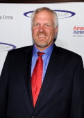 Former NBA player Mark Eaton arrives at the 2011 Cedars Sinai Sports Spectacular at Hyatt Regency Century Plaza on May 22 2011 in Beverly Hills...