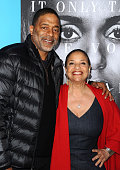 Former NBA player Norm Nixon and actress Debbie Allen attend the premiere of 'Confirmation' at Paramount Theater on the Paramount Studios lot on...