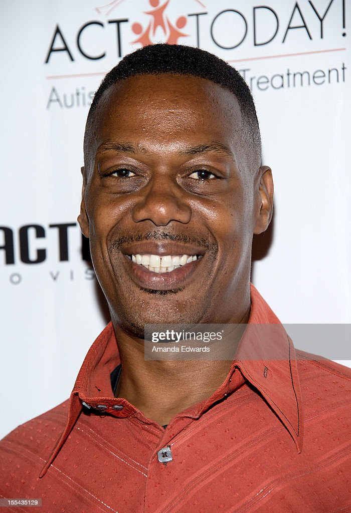 Former NBA player Sam Williams arrives at the ACT Today!'s 7th Annual Denim & Diamonds For Autism Benefit on November 3, 2012 in Malibu, California.