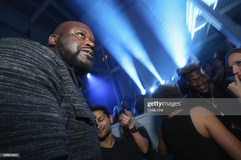Former NBA player <a gi-track='captionPersonalityLinkClicked' href=/galleries/search?phrase=Shaquille+O%27Neal&family=editorial&specificpeople=201463 ng-click='$event.stopPropagation()'>Shaquille O'Neal</a> attends Rolling Stone Live SF with Talent Resources on February 7, 2016 in San Francisco, California.