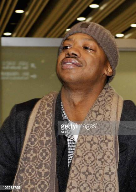 Former NBA player Steve Francis arrives at Capital Airport on December 14 2010 in Beijing China Steve Francis will start his Chinese Basketball...
