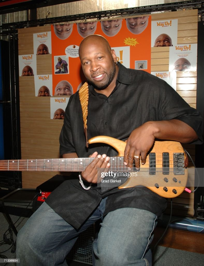 Wayman Tisdale In Store Appearance At FYE Store At Rockefeller