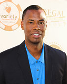 Former NBA Plyer Jason Collins attends the 5th Annual Variety Texas Hold 'Em poker tournament benefiting The Children's Charity Of SoCal at Paramount...