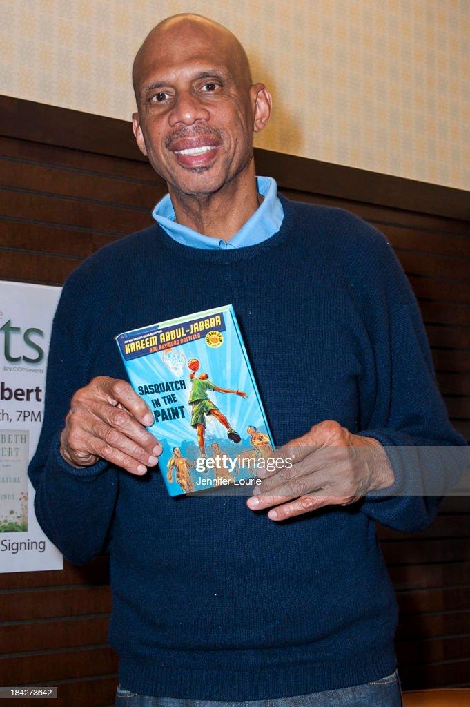 "Kareem Abdul Jabbar Book Signing For ""Sasquatch In The Paint"""