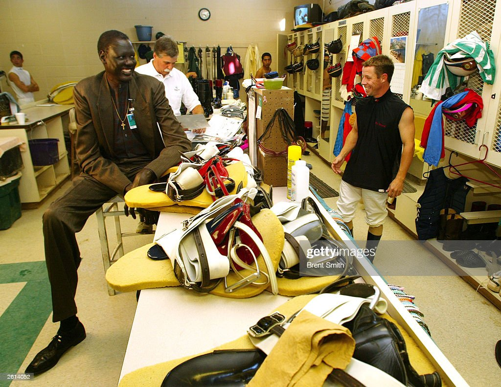Manute Bol Be es Tallest Jockey Ever Licensed In Indiana s