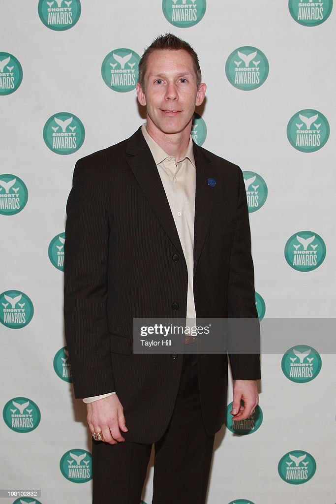 Former New Jersey Devils right wing Grant Marshall attends the 2013 Shorty Awards at Times Center on April 8, 2013 in New York City.
