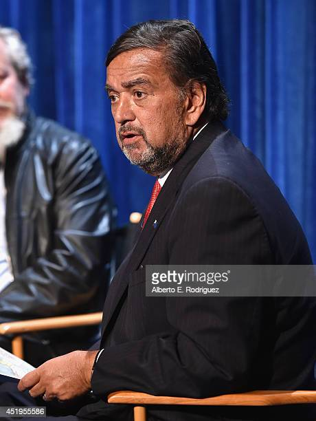 Former New Mexico Governor Bill Richardson attends The Paley Center For Media Presents An Evening With WGN America's 'Manhattan' at The Paley Center...