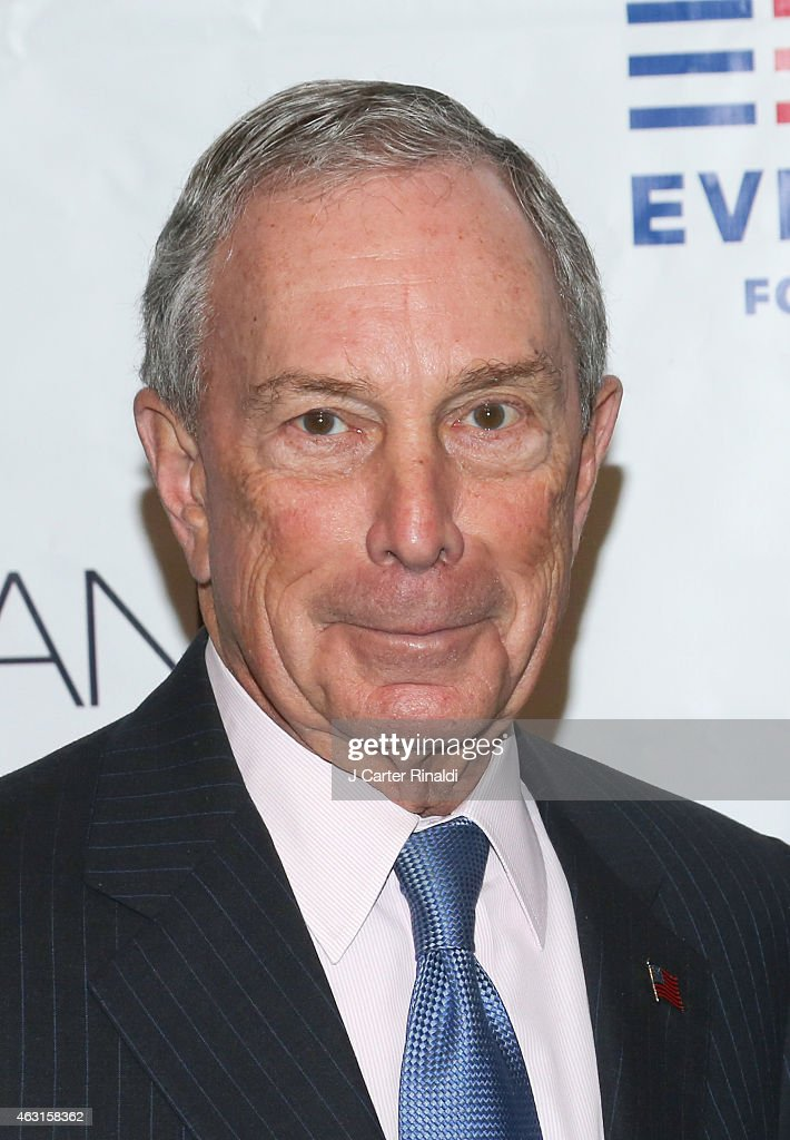 Former New York City Mayor Michael R. Bloomberg attends 'Not One More' Event at Urban Zen on February 10, 2015 in New York City.